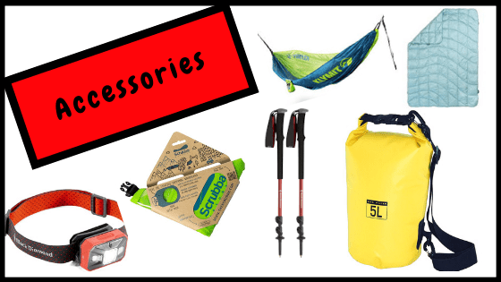 Best gifts for hikers, campers and outdoor adventurers- accessories