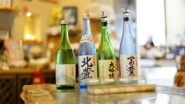 Kawaguchiko sake brewery