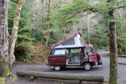peace van camper van rentals washington