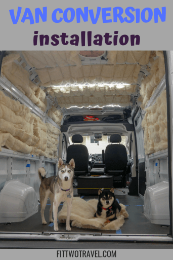 how to install campervan insulation and why we used havelock wool for our van insulation #vanbuild #vanlife