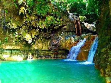 amber cove waterfalls