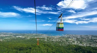 Dominican Republic cable car