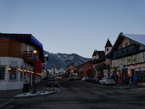 Bavarian town Leavenworth