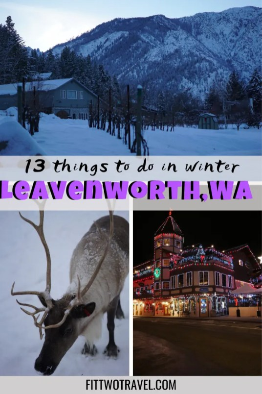 13 things to do in Leavenworth in the winter. Why you need to visit Leavenworth, Washington this winter #leavenworth #bavaria #christmas