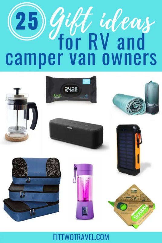 The best gifts for van lifers! An in depth list of gift ideas for van owners and RV owners #campervangifts #vanlife #giftguide #Rvgifts