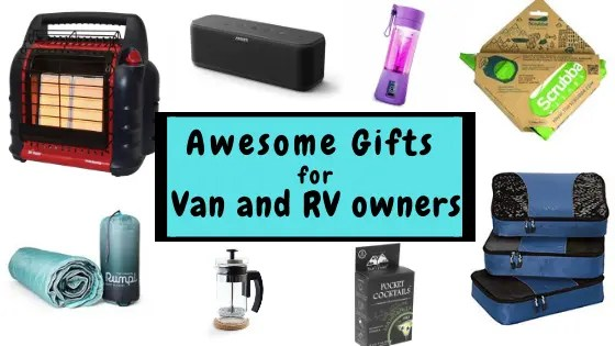 campervan gifts for van and rv owners