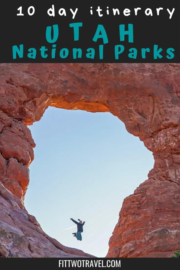10 day itinerary for Utah National Parks