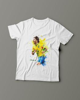 Футболка с принтом Neymar Jr