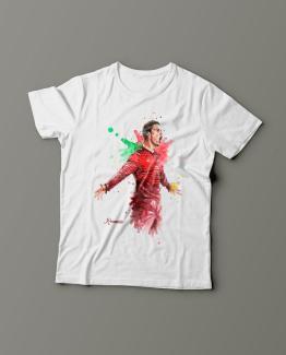 Футболка с принтом Cristiano Ronaldo