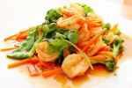 Pittige groenten met garnalen