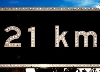 21km half marathon