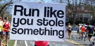 馬拉松加油標語