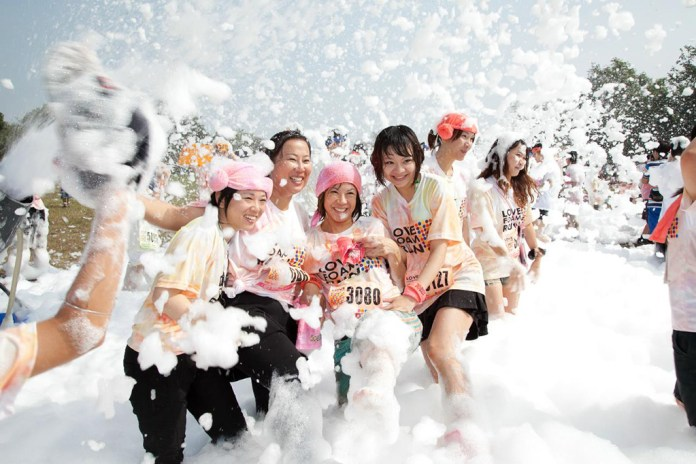 泡泡跑 Love Foam Run