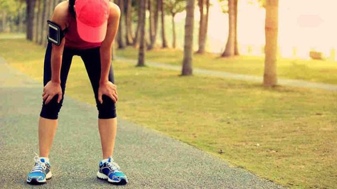 運動過度的徵兆