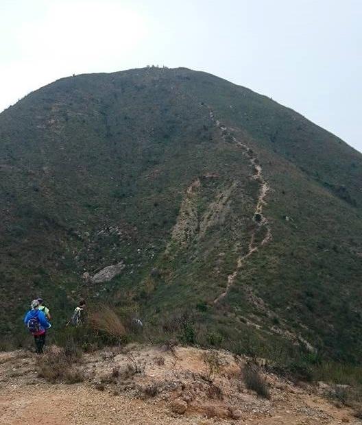 最後一個挑戰:圓頭山