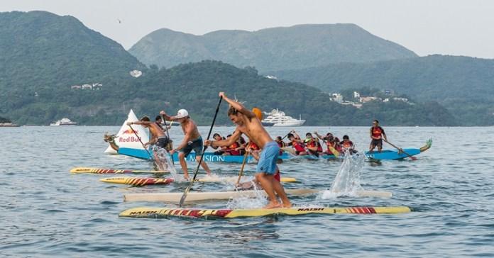 世界衝浪冠軍挑戰香港龍舟 3