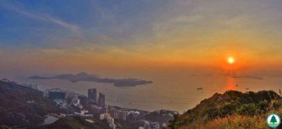 香港島 西高山觀景台 日出日落 5