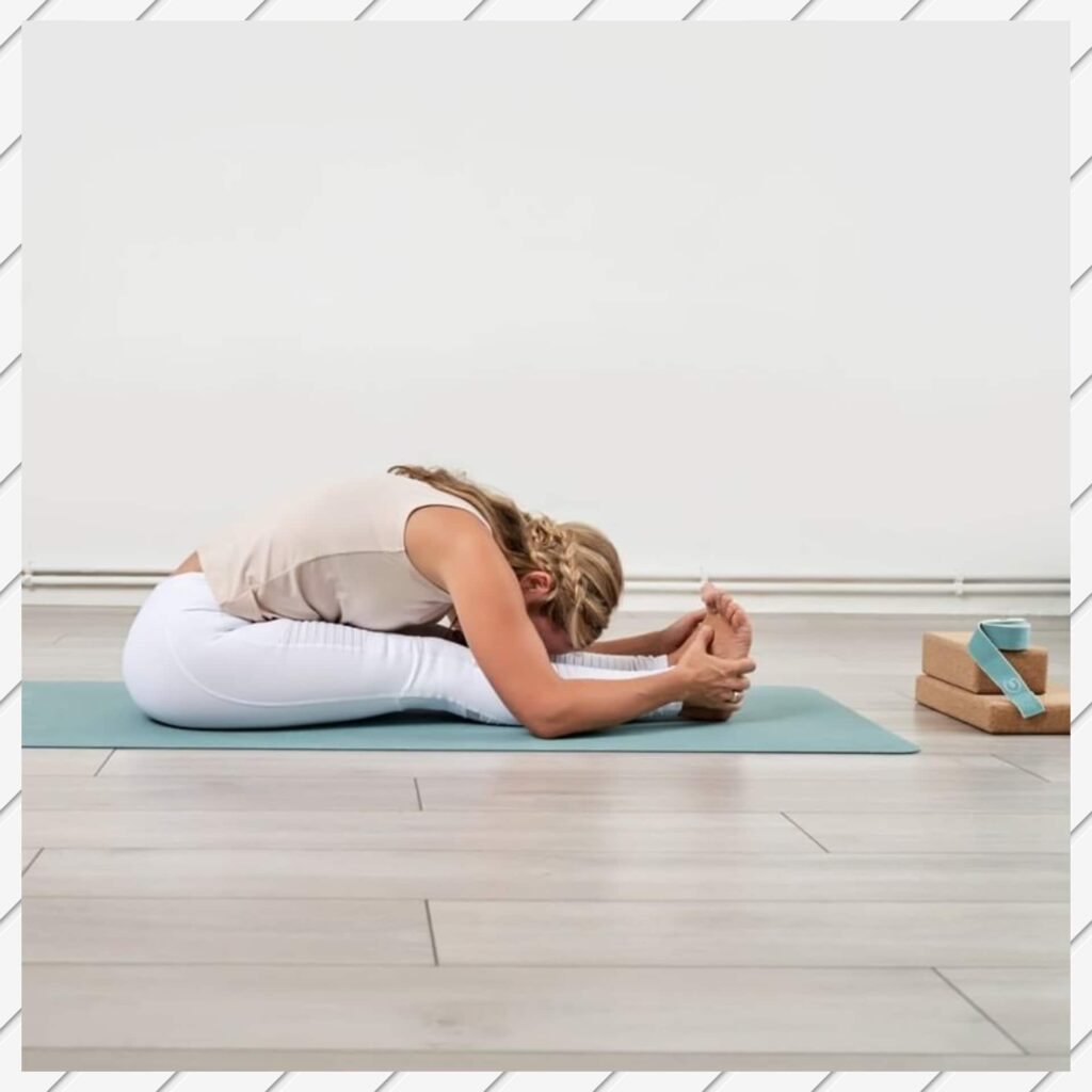 Paschimottanasana or Seated Forward Bend - FITZABOUT