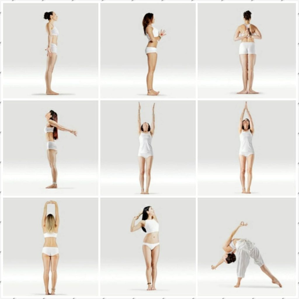 Variations of Mountain Pose - FITZABOUT