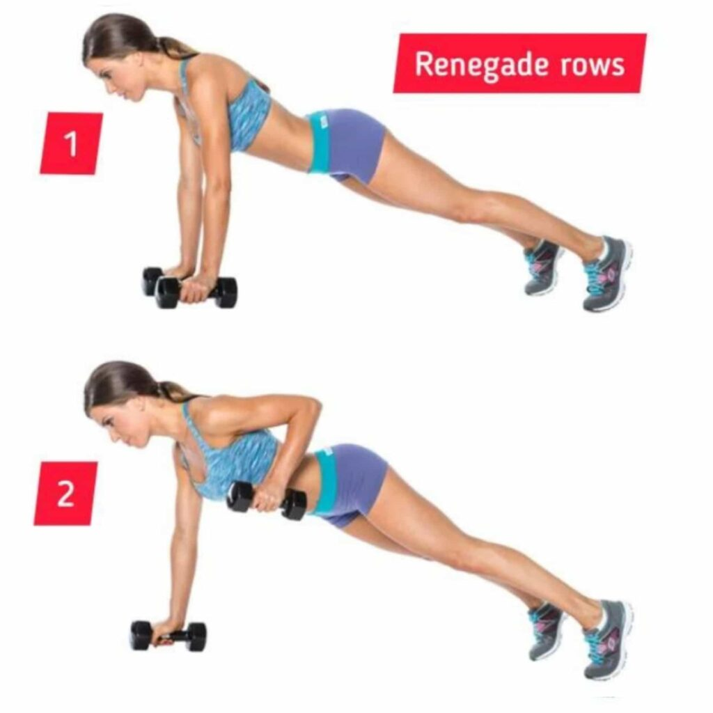 Renegade rows – circuit training - FITZABOUT