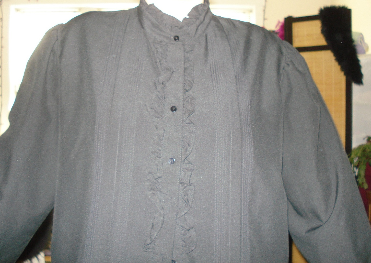 black blouse before