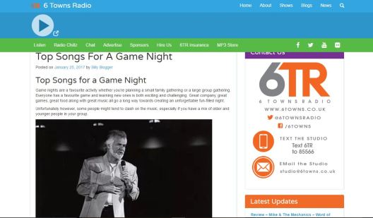 classic game night playlist blog article