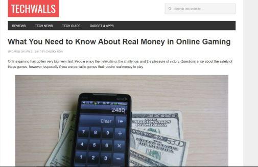 SEO Blogging Article - online money