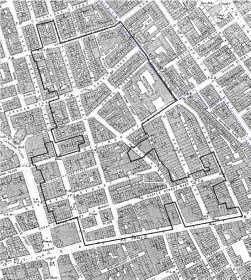 East Marylebone Map 1890