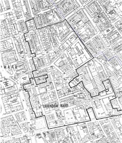 East Marylebone Map 1910