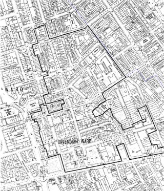 East Marylebone Map 1910