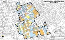 East Marylebone Building Age Map