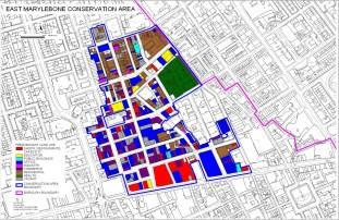 East Marylebone Area Map