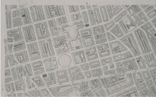 Horwood's Eastern Marylebone Map 1790's