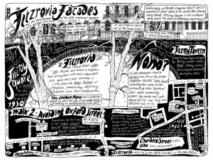 Illustration of Fitzrovia and Marylebone
