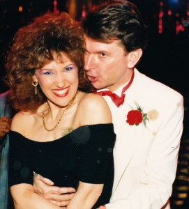 Philip Hedley and Anita Dobson