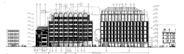 Drawing of proposed development