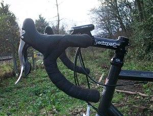 Campagnolo 10 speed Veloce Ergolevers.