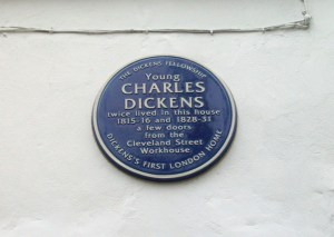 Young Charles Dickens twice lived in this house: 1815-16 and 1828-31.
