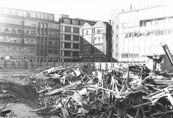 Demolition site.
