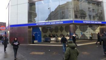 Station entrance.