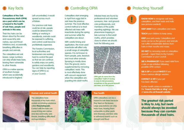 Pages from leaflet.