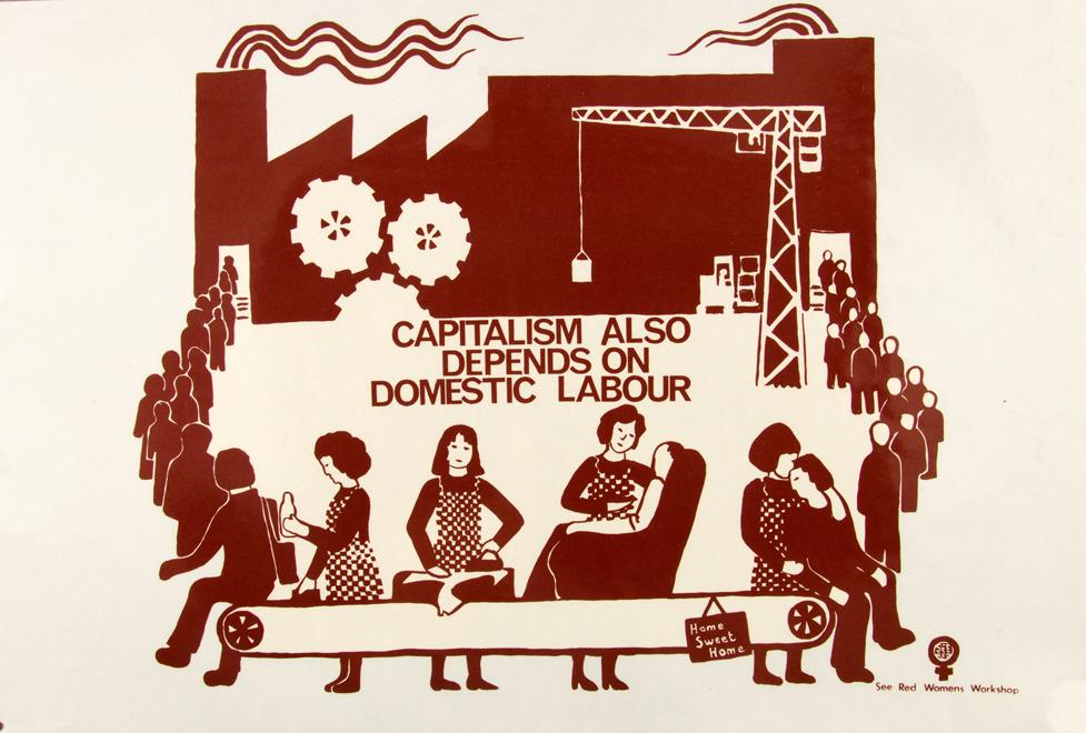 Silk screen printed poster.