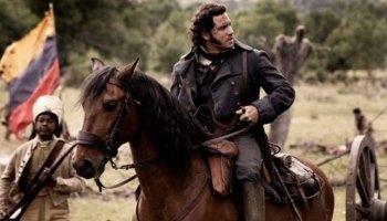 Man on horseback.