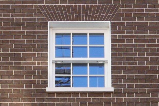 Fake Georgian window.