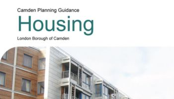 Camden Planning Guidance revision.