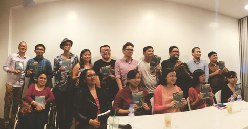 The Cyberpreneur Philippines Team who came to the launch