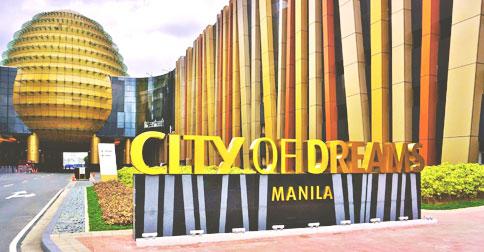 Casino resort estate City of Dreams Manila in the Bay City is home to a Hyatt hotel.