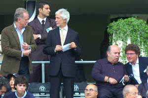 Oronzo Canà - allo stadio Olimpico per Juventus-Genoa