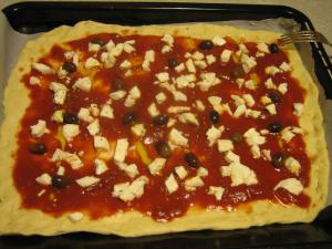 La pizza fatta in casa di Mamma Cristina