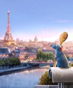 Ratatouille locandina Parigi